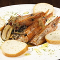 料理メニュー写真大海老とキノコのアヒージョ