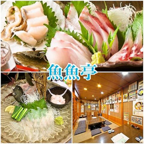 居酒屋 魚魚亭(うおうおてい)
