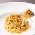 料理メニュー写真生うにのぺペロンチーノ シチリア風
