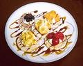 料理メニュー写真オハナパンケーキ