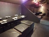 最大26名様まで利用可能な2Fの個室席。仕切ることで、少人数使いでの利用も可能です♪