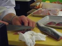 長崎県産のおいしい魚介類が食べられる