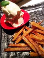 料理メニュー写真天使のチーズwith芋ケンピ