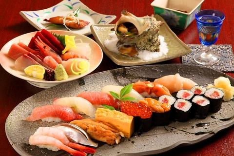 お寿司は勿論、お料理一つ一つ丁寧にお造りし、塩や醤油など調味料にも妥協しません。