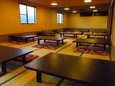 【広いお座敷は最大80名様まで◎】広い座敷があるので、80名までの宴会を行うことも出来ます。会社宴会はもちろん、同窓会や法事など大きな集まりにも気軽にご利用頂けます。
