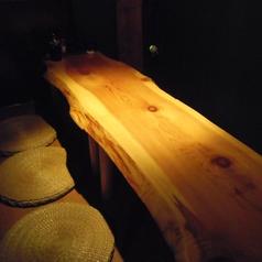 こだわりのテーブル