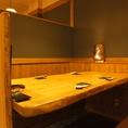 1Fは個室風のテーブル席。最大60名まで対応可(写真はイメージです)