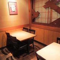 【品川駅3分の好立地】テーブル個室・BOX席も完備