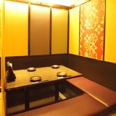 店内は安土桃山もイメージした和の作りで外国のお客様にも喜ばれています。