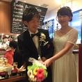 ≪結婚式2次会≫開放的なEDEN庭園の入口から入場~♪