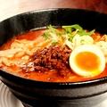 料理メニュー写真濃厚四川担々麺