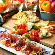 料理メニュー写真【新鮮野菜】旬の有機野菜を使った料理を♪