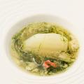 料理メニュー写真蕪の海苔と蟹のあんかけ
