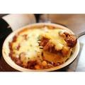 料理メニュー写真山芋と自家製ミートソースのミルフィーユ