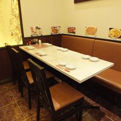 4~8名様テーブル席