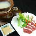 料理メニュー写真国産鴨の蕎麦湯鍋