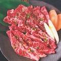 料理メニュー写真カルビ&ロース盛合わせ (300g)