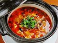料理メニュー写真【一番人気】四川麻婆豆腐(しびれる辛さのアツアツピリ辛マーボ豆腐)