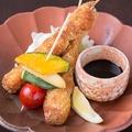 料理メニュー写真飛騨豚の柔らか串カツ/Hida-pork Kushi-katsu