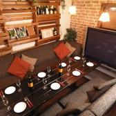バルでは珍しい個室も完備☆8名~15名様までのご利用可能!