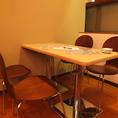 宴会にもばっちりなテーブル席♪