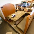 6名様掛けテーブル席×4席
