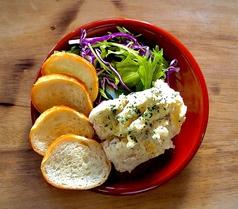 いぶりがっことクリームチーズのポテトサラダ