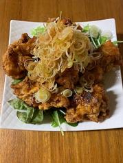 唐揚げ特製ねぎソース(オリジナル油林鶏)