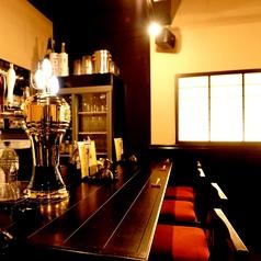 おひとりさま歓迎!出張等で新潟のご当地料理を満喫したい方はスタッフとの会話も楽しめるカウンター席へどうぞ。