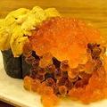 料理メニュー写真ぶっかけウニイクラ寿司