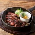 料理メニュー写真熟成赤身のステーキ