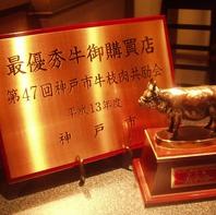 最優秀賞受賞の神戸牛