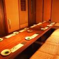 18名様までの完全個室です。会社宴会や歓送迎会など中規模宴会にぴったりの個室です。