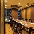 宴会や会食におすすめ◎11名~最大80名様までご利用頂ける完全個室は全10部屋ご用意しております。