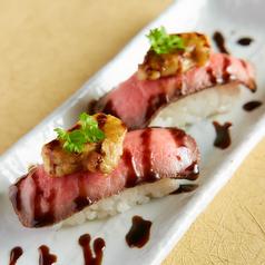 フォアグラ肉寿司(1貫)