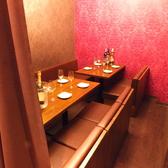 【個室 10名席×1】完全個室を完備。ほかのお客様気を使うことなくご利用できます。【焼肉 ランチ 居酒屋 肉バル 肉 心斎橋 誕生日 飲み放題 女子会 昼宴会】