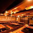 最大宴会人数は120名様!60名~120名様で貸切も承っております。お客様のご要望に合わせて宴会コースを取り揃えました☆九州・博多横町をイメージした活気あふれる店内で『博多串やき』『熊本の馬刺し』 『天ぷら食べ放題』などの郷土料理を存分にお楽しみ下さい!【四日市/居酒屋/焼酎/日本酒/九州料理/もつ鍋】