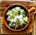 料理メニュー写真道産ブロッコリーのオーブン焼き~どっさりパルメジャーノのせ~