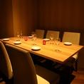 宴会、誕生日、デートと様々シーンに合わせてご利用いただける個室をご用意。