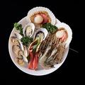 料理メニュー写真海鮮ファミリー(ズワイガニ・大海老・ホタテ・牡蠣・はまぐり)