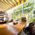 明るいテラス席で優雅なランチタイムを♪暖かい日差しを浴びながらお食事をお楽しみください。