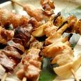 ◆鳥放題のこだわり1【生串宣言】美味しい焼き鳥を提供させて頂く為、ボイル串は使用しておりません。(※つくね串・皮串除く)