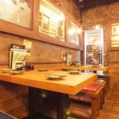 ふらっと入って塚田で元気に♪お友達同士で気軽にご利用いただけるテーブル席◎