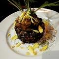 料理メニュー写真黒米のサラダ