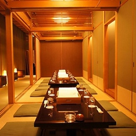 東銀座で個室有、貸切可の和食店、同窓会などご宴会に