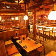 久茂地の路地を入ると、、、。創作沖縄料理が楽しめる
