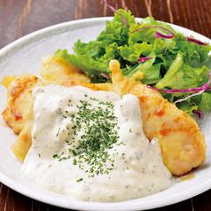 料理メニュー写真チキン南蛮タルタルソース