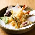 料理メニュー写真天使の海老の天婦羅