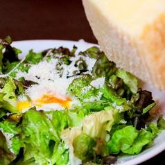 2種のチーズを削った濃厚シーザーサラダ(M)