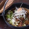 料理メニュー写真飛騨牛スジの八丁味噌煮込み/Stewed Hida-beef with Miso
